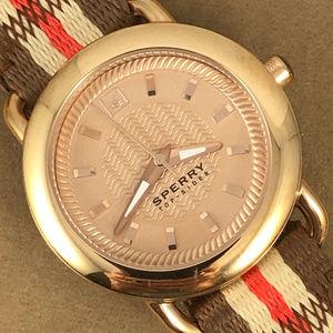 Sperry Top-Sider Women's Sandbar Stainless Watch